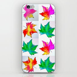 Watercolor prints iPhone Skin