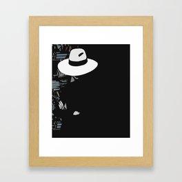 Silent world Framed Art Print