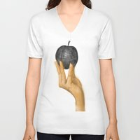 evolution V-neck T-shirts featuring Evolution by Booklils