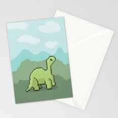 Another Pixel Dino! Stationery Cards