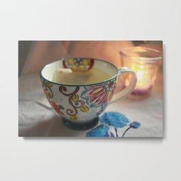 A Cuppa Tea Metal Print
