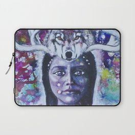 She Who Has Been Before Laptop Sleeve