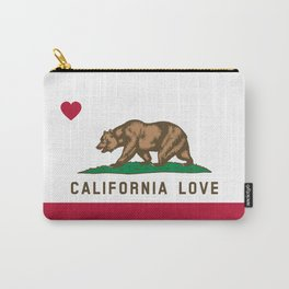 California Love Flag Carry-All Pouch