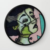 bianca Wall Clocks featuring Bianca by Sarah Huth