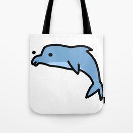 Dolphin Dude   Veronica Nagorny Tote Bag