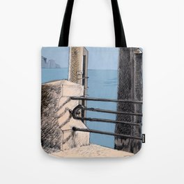 Baveno Dock, Northern Italy Tote Bag