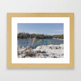 Klondike Lake Framed Art Print
