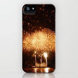 Golden Gunpowder iPhone Case