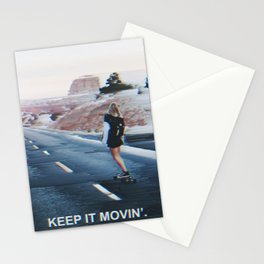 Keep it Movin' Stationery Cards
