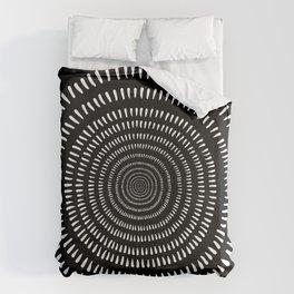 Fjorn black Duvet Cover