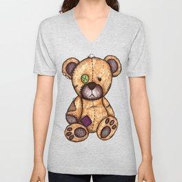 Brenda the Bear Unisex V-Neck