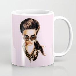 Fashion Illustration - Glasses Coffee Mug