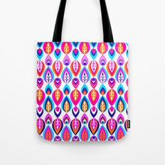 Pierrot II/Happy Memoir Pattern Tote Bag