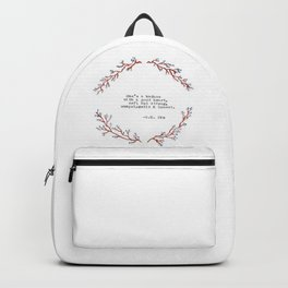 Badass with a good Heart- R. H. Sin Backpack