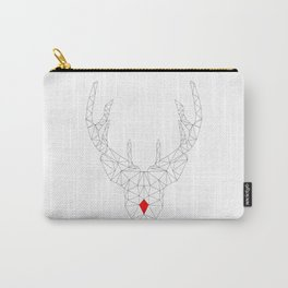 Red Nosed Reindeer Carry-All Pouch
