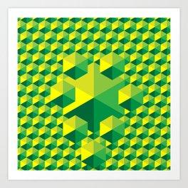 Nature's Building Blocks Art Print