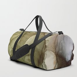 Calm Nature- Earth Inspired Abstract Painting Duffle Bag