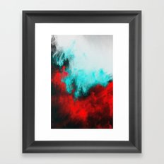 Painted Clouds III.1 Framed Art Print