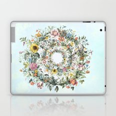 Circle of Life Blue Laptop & iPad Skin
