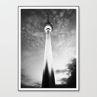 berlin Canvas Prints featuring berlin. by zenitt