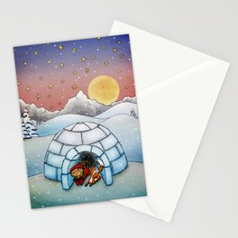 Winter Home Stationery Cards