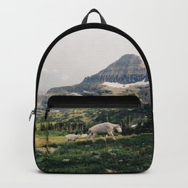 Montana Mountain Goat Family Backpack