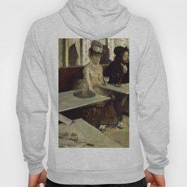 "Edgar Degas ""The Absinthe Drinker (Au Café, l'Absinthe)"" Hoody"
