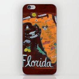 FLORIDA map iPhone Skin