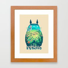 He Is My Neighbor Framed Art Print
