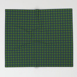 Muir Tartan Throw Blanket