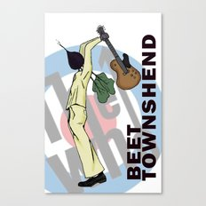 Beet Townshend Canvas Print