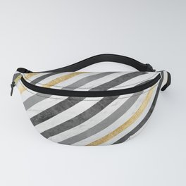 Gold collage XIX Fanny Pack
