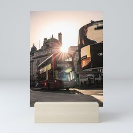 ArWork Bus Piccadily Sunset London ArtPhoto Art Mini Art Print