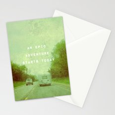 An Epic Adventure Awaits Stationery Cards