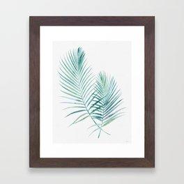 Jungle Flora Framed Art Print
