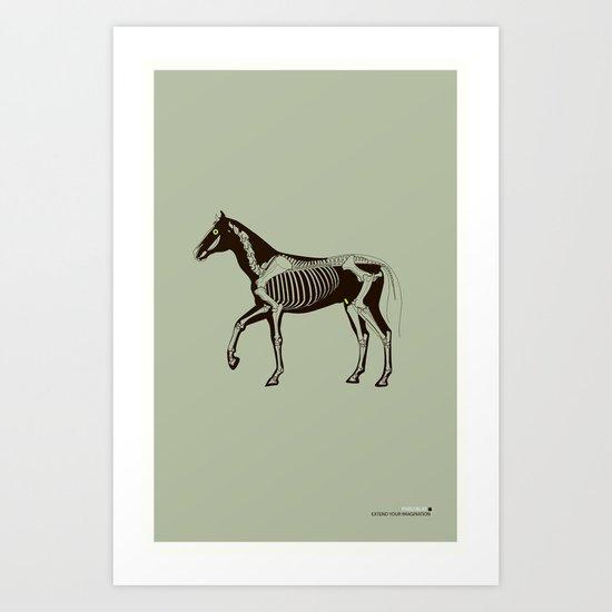 Extend your imagination 2 Art Print