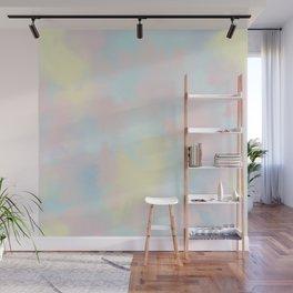 soft tie dye Wall Mural