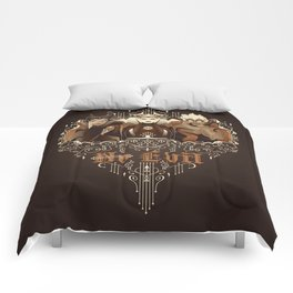 Three Wise Villains Comforters