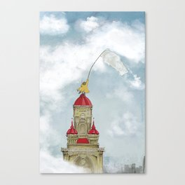 The Cloud Catcher Canvas Print