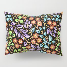 Filigree Floral smaller scale Pillow Sham