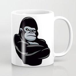 angry  gorilla.black gorilla Coffee Mug