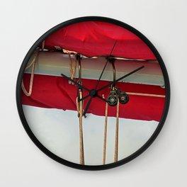 A Cayman Sail II Wall Clock