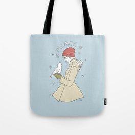 peace to you Tote Bag