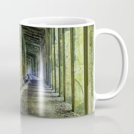 Great Norther Railroad Snow Shed Coffee Mug