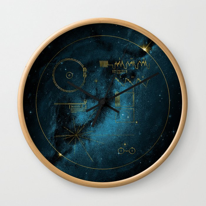 Voyager and the Golden Record - Space | Science | Sagan Wall Clock