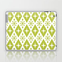 Mid Century Modern Atomic Triangle Pattern 131 Laptop & iPad Skin