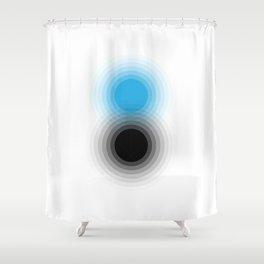 Event Horizon by Friztin Shower Curtain