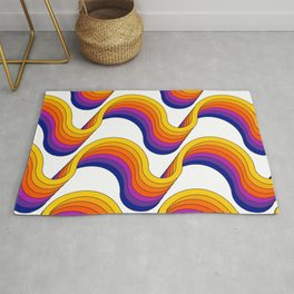 Rainbow Ribbons Rug