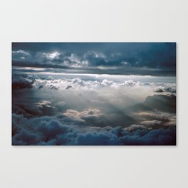 CLOUD NINE/FLY HIGH - feeling zero gravity Canvas Print