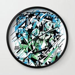Street Diamond Wall Clock